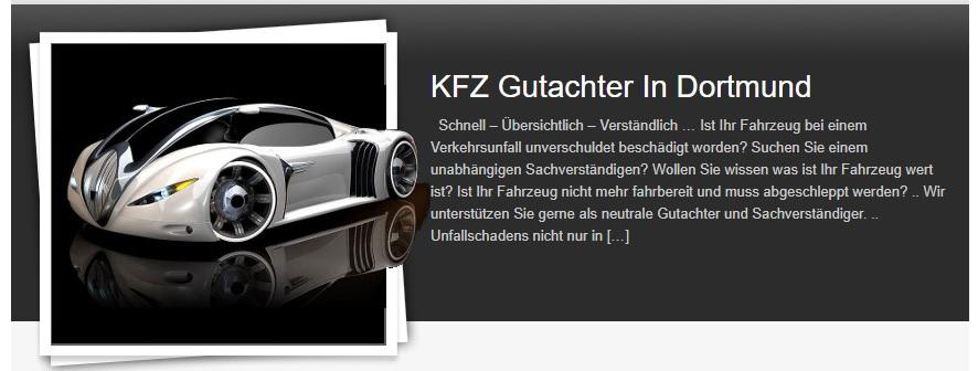 KFZ-Sachverständiger Dipl.- Ing. Ansari